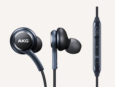 Наушники Earphones tuned by AKG