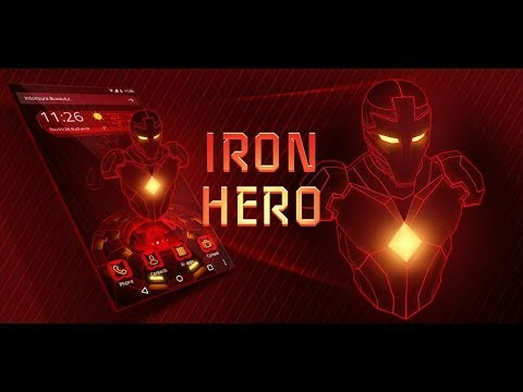 Тема Red Iron Hero 3D